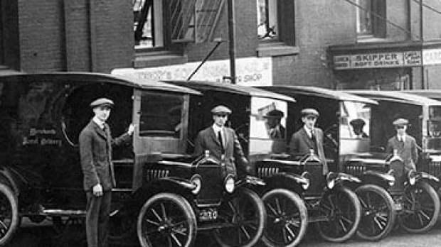 Pierwsze Furgonetki UPS