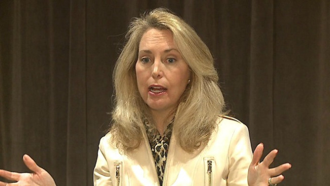 Valerie Plame spoke in Youngstown as part of the YSU Skeggs Lecture series_32250