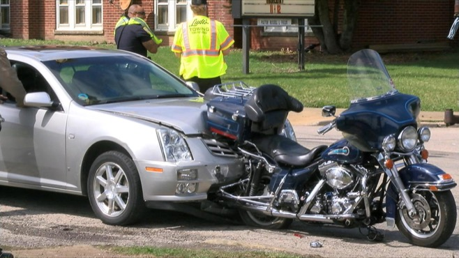 Car and motorcycle crash in Youngstown, Ohio_37193