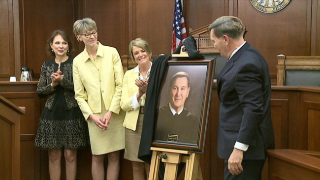 Judge Joseph Vukovich portrait unveiled at Appeals Court in Youngstown_37687