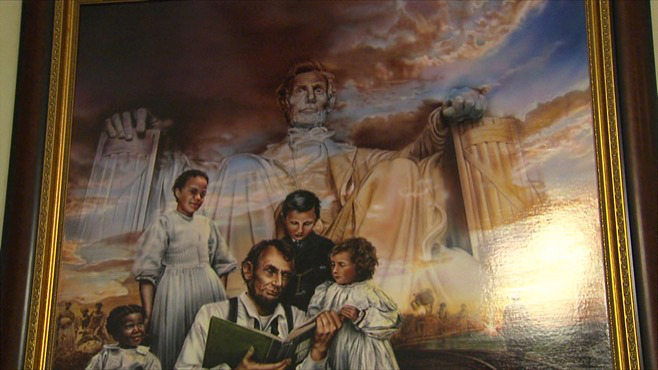 Painting of Lincoln set to be displayed in Youngstown_45931