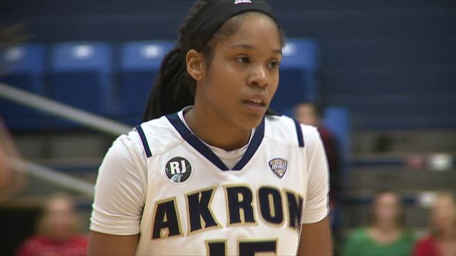 Harding grad Brown leads Akron past YSU_62219