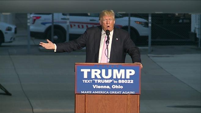 Donald Trump in Vienna, Ohio_71005