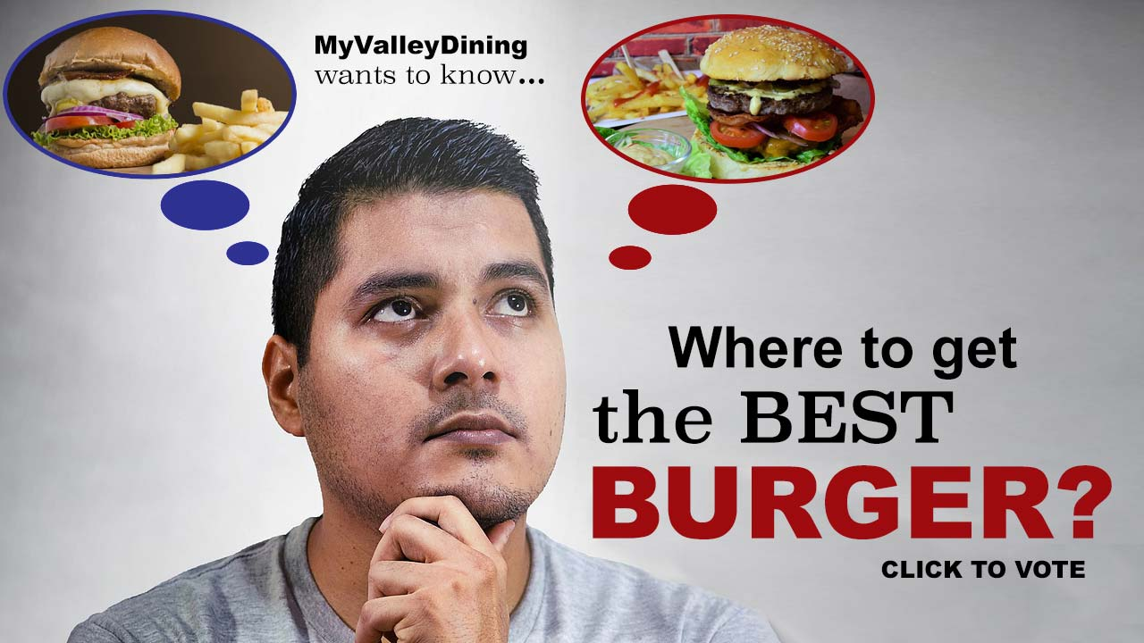 Best burger vote