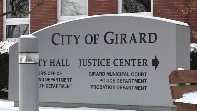 City of Girard sign_117624