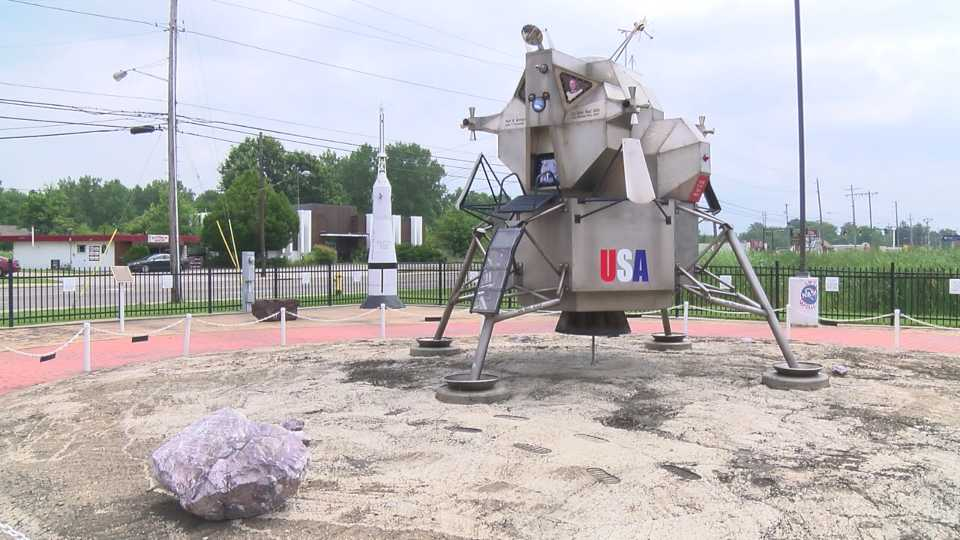 Replica honors Neil Armstrong, who took his first airplane ...