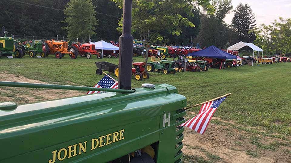 Saturday in Vienna, the Antique Tractor Club of Trumbull County is hosting its 25th annual Antique Tractor Show.