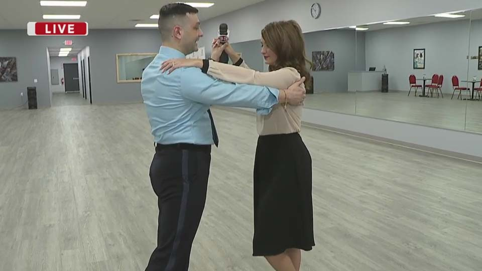 Daybreak Nation on Location: Fred Astaire Dance Studios