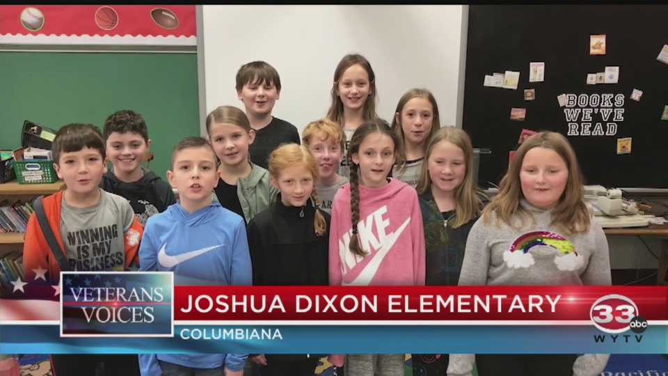 Veterans Day at Joshua Dixon Elementary in Columbiana