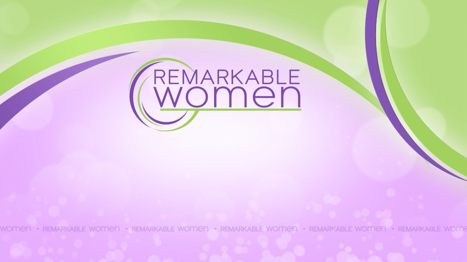Remarkable Women Logo Background