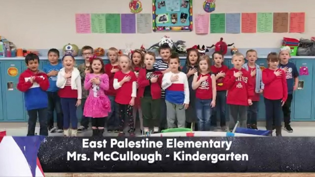 East Palestine Elementary - Mrs. McCullough - Kindergarten