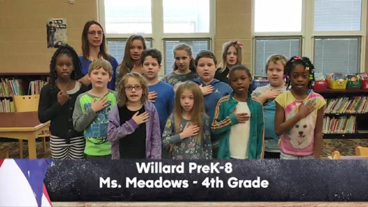 Willard PreK-8 - Ms. Meadows - 4th Grade