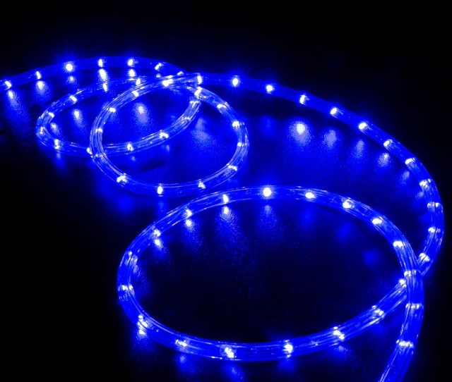 Led Rope Light Blue  Feet