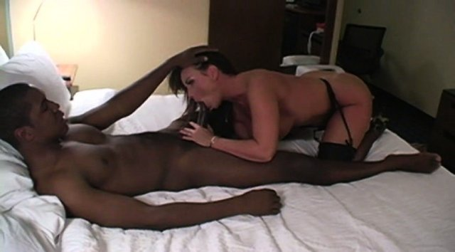 Real Amateur Hotwife fucked very hard by a huge black cock HD.