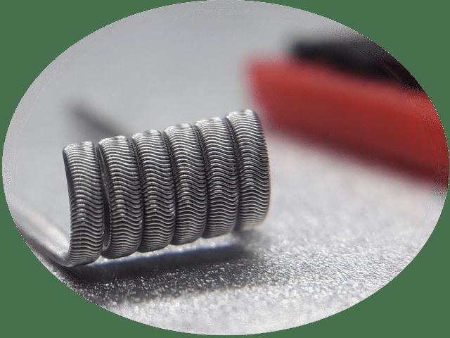 Framed Staple Alien Coils