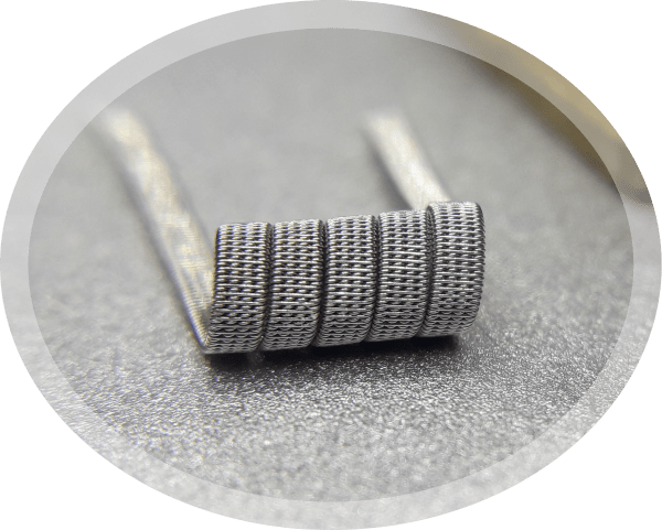 4 core staple staggered fused Handmade vape coils