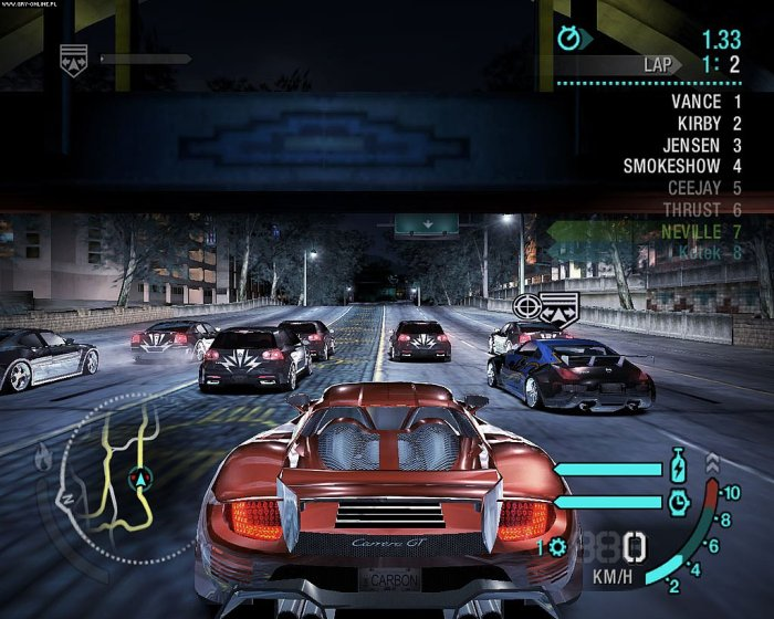 Need for Speed Carbon pc for free