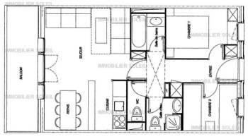 voorbeeld driekamer appartement