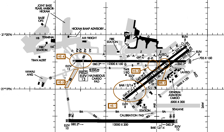 Kajo Airport Diagram