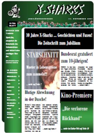 Titelbild der Jubiläumszeitschrift 2004