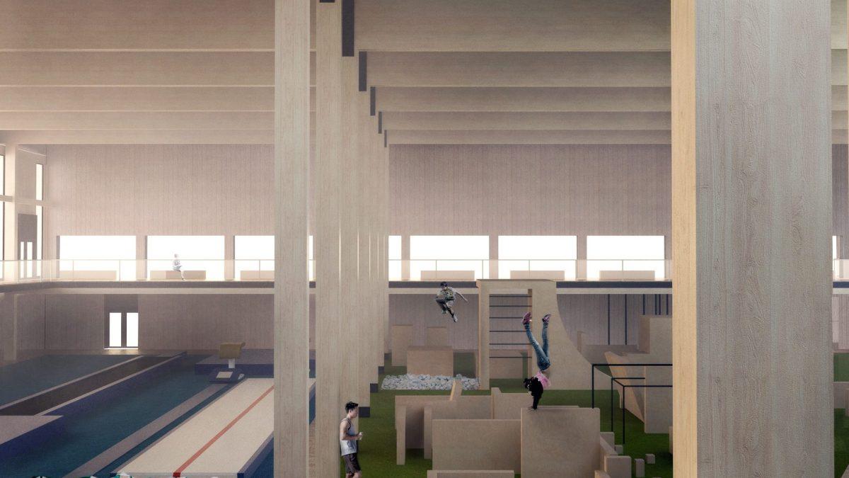 X2 Architects Sölvesborg Aktivitetscentrum