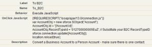 Convert between Business and Person Accounts (B2B – B2C)
