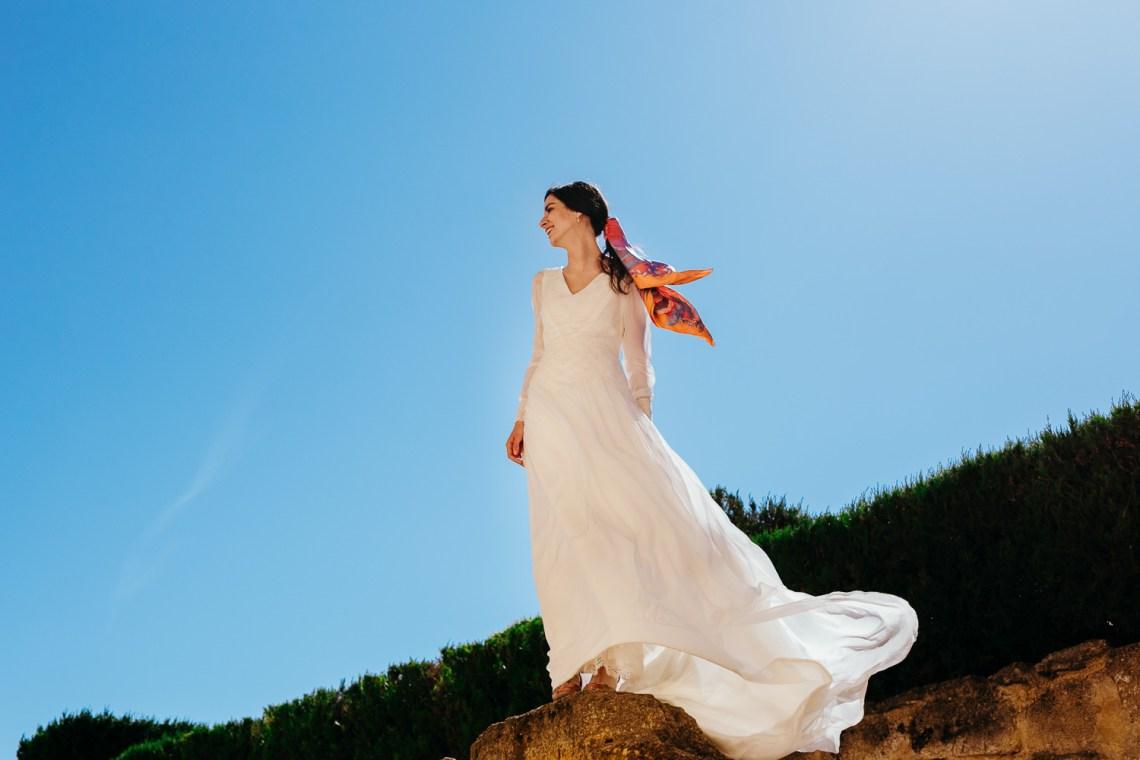 vestido de Teresa Baena