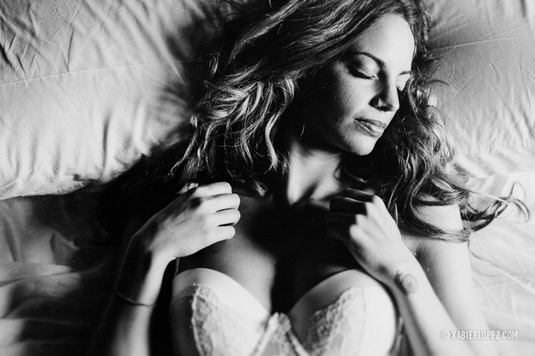 retrato boudoir sensual