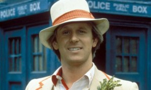 Peter Davidson, the 5th Doctor.