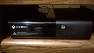 My new Xbox 360E console, recently purchased to replay my older one