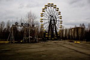 The legendary Pripyat amusement park.