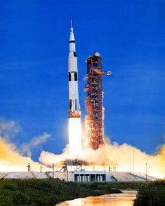 The launch of Apollo 15
