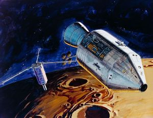 Artists depiction of the release of PFS-1