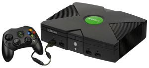 The original Xbox, from 2001.