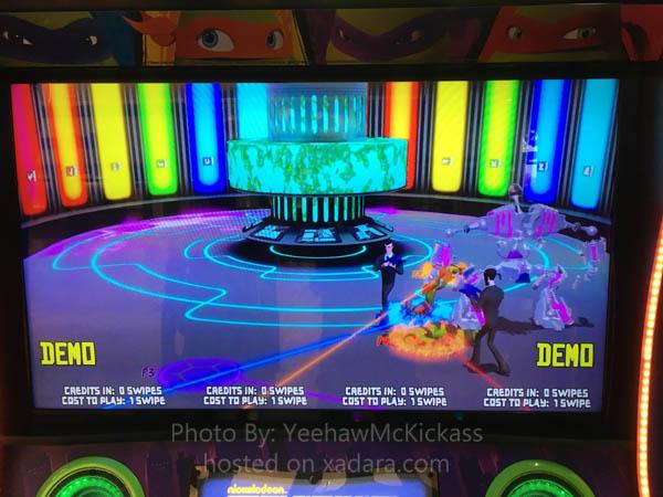 The New Raw Thrills Teenage Mutant Ninja Turtles Arcade Game – A