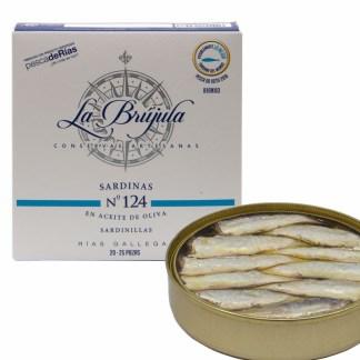Sardinas-en-aceite-de-oliva-nº124-La-Brújula