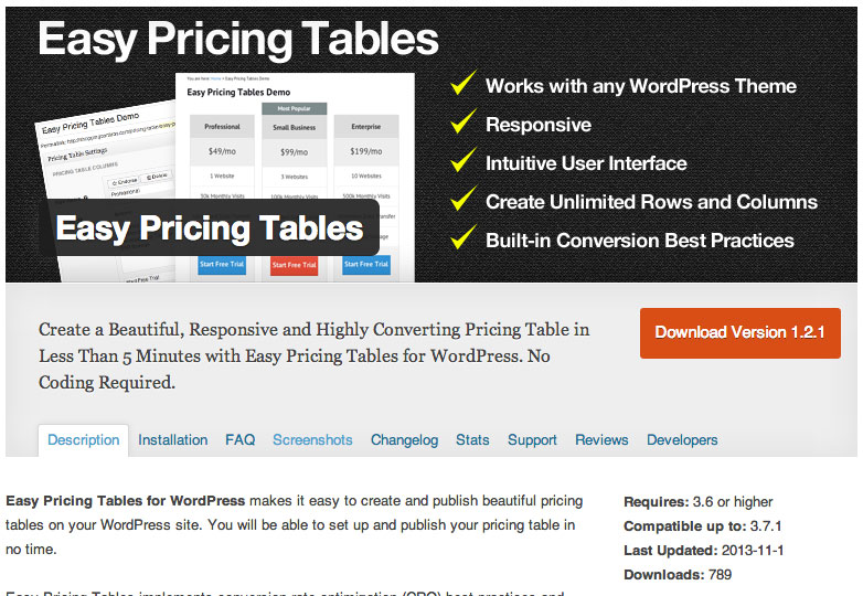 easy_pricing_tables