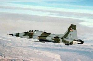One of Kenya's F-5E Tiger II fighter jet