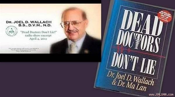 TS Joel D. Wallach khuyên mỗi người cần bổ sung đủ các dưỡng chất cần thiết