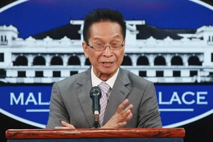 Phát ngôn viên Tổng thống Philippines, ông Salvador Panelo. (Ảnh: Philstar).