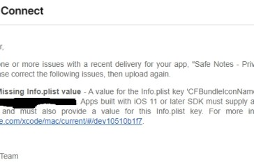 How to solve the 'Missing Info.plist value' error for Xamarin iOS apps