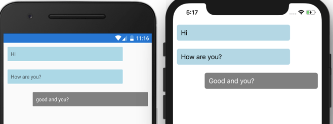Exploring a Chat UI in Xamarin Forms (Part  1) - Rendy's Website