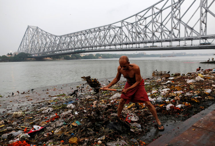 Consequence of river pollution