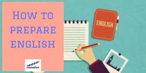 English preparation tips for exam