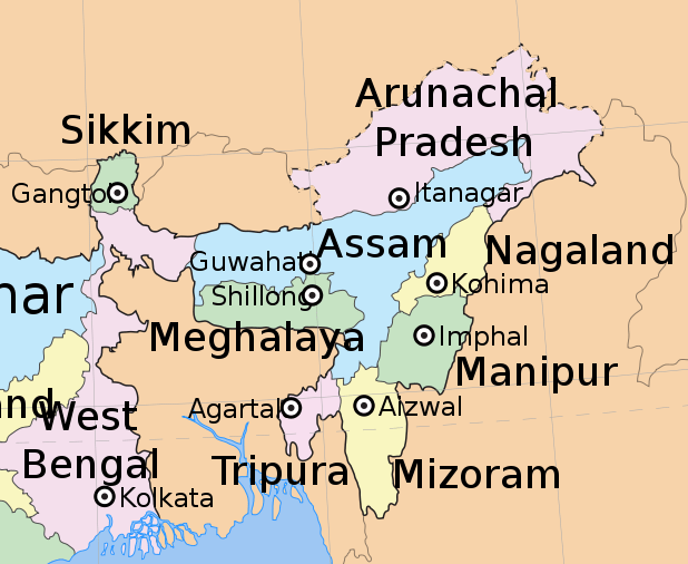 development of North-East of India