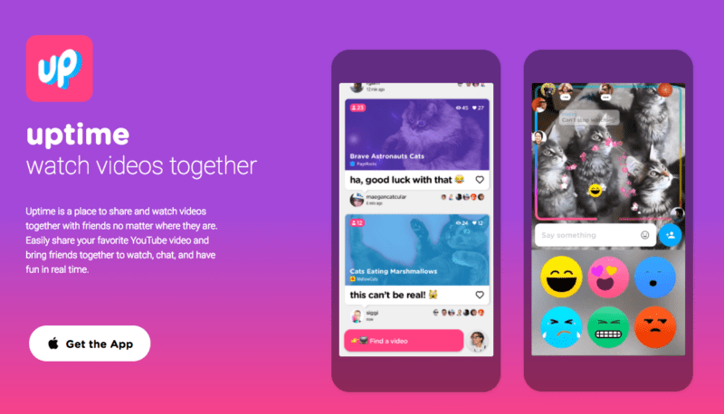 Google Uptime Launches from Area 120, a YouTube Sharing App