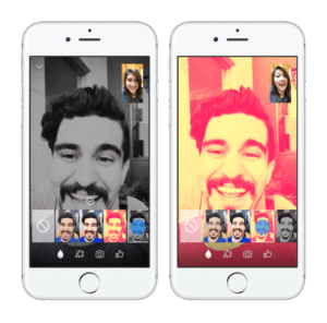 Messenger video chat filters