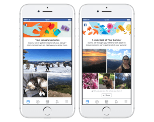 facebook memory recap seasonal and monthly