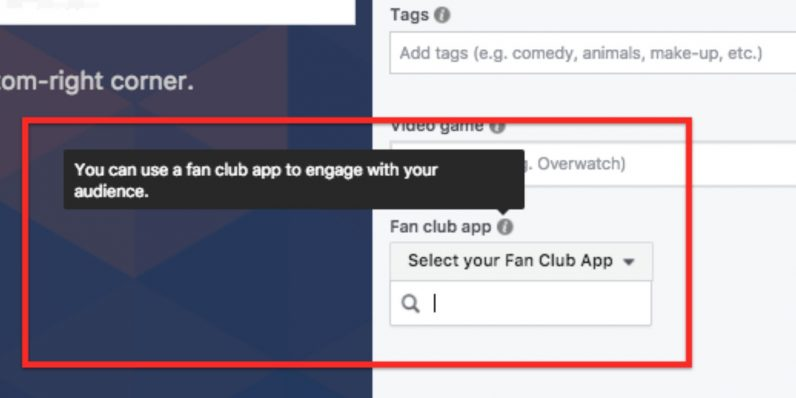 Facebook Fan Club App
