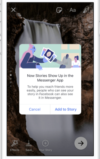 Facebook Stories Replaces Messenger Day, Adds Synced Cross-Posting